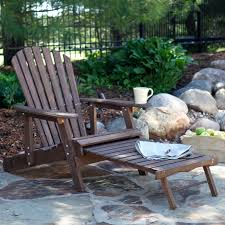 Adirondack Chair Place Card Holders Coral Coast Big Daddy Adirondack Chair With Pull Out Ottoman And