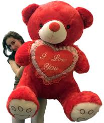 big valentines day valentines day teddy soft with bigfoot