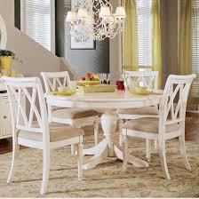 wonderfull design white round dining table set surprising idea