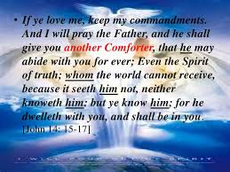 Holy Spirit My Comforter The Holy Spirit And The Beliver