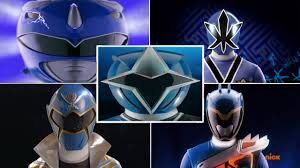 blue ranger morphs mighty morphin power rangers power