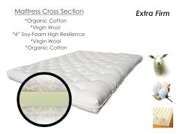 back care plus natural wool futon mattress handmade wool