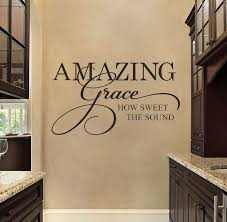 religious wall decals amazing grace wall decals by u0027s