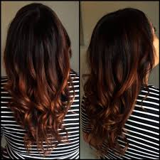 does hair look like ombre when highlights growing out copper ombre looks really cute i really like this color a lot