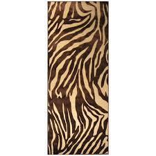 Leopard Area Rugs Walmart Cheap Brown Animal Print Rug Find Brown Animal Print Rug Deals On