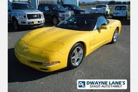 corvette wa used chevrolet corvette for sale in everett wa edmunds