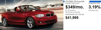 bmw 1 series for lease bmw 1 series convertible lease offer bmw dealership