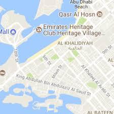 map of abu dabi abu dhabi city map satellite view abudhabi