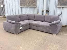 Corner Sofa Bed With Storage by Enzo Grey Corner Sofa Bed With Storage New 699 Inc Free Local