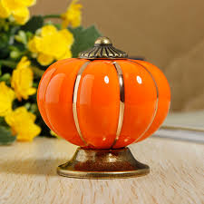 ceramic pumpkins ceramic pumpkins door drawer cupboard pull handles knobs alex nld