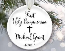 communion christmas ornament christmas ornament etsy