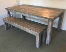parsons wood dining table farmhouse table etsy