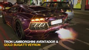 lamborghini wallpaper gold tron lamborghini aventador flaming u0026 gold bugatti veyron youtube