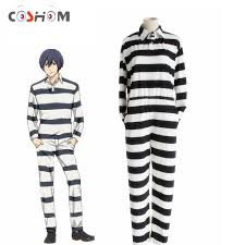 Halloween Jail Costumes Cheap Halloween Prisoner Costumes Aliexpress