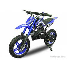 motocross pedal bike xtreme 36v 800w nitro dirt bike in blue xtreme toys