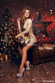 merry christmas beautiful legs sitting