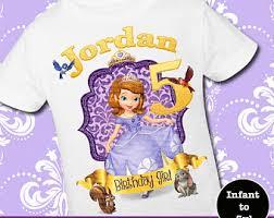 sofia the birthday sofia birthday shirt etsy