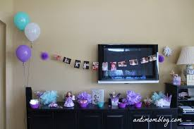 1st Birthday Party Decorations Homemade Sofia The First Birthday Party Ideas