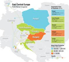 Map Of Eastern Europe by Eastern Europe Exporters Biomassmagazine Com