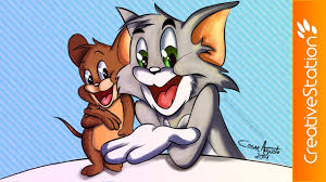 tom jerry speed painting photoshop creativestation