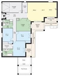 plans maisons plain pied 3 chambres plan maison de plain pied 3 chambres 3 maison plain pied 7