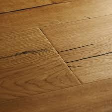 Laminate Flooring Without Beading Natural Oak Distressed Wood Flooring Woodpecker Flooring