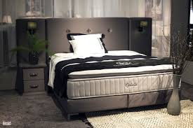 Bedroom Ideas With Gray Headboard Brownish Gray Full Size Bed With Beige Frame And Dark Light Block