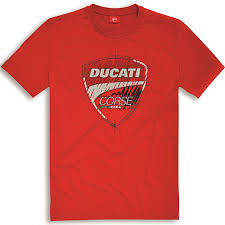 ducati corse sketch t shirt red 98769502