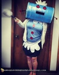 Jetsons Halloween Costumes Coolest Diy Jetsons Maid Rosie Robot Costume Robot Costumes