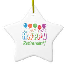 happy retirement ornaments keepsake ornaments zazzle