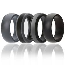 silicone wedding ring for men by soleed rings power