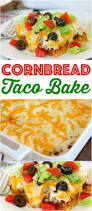 cornbread taco bake recipe from the country cook country cook