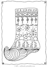 blank christmas stocking coloring page cheminee website