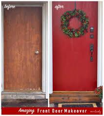Front Door by Front Door Makeover Make Life Lovely