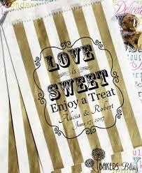 wedding favor bag personalized wedding favor bags is sweet enjoy a treat