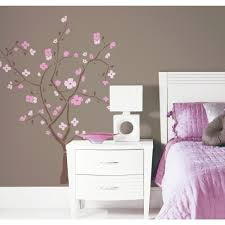 Mural Stickers For Walls Roommates Rmk1555gm Spring Blossom Peel Stick Giant Wall Decal