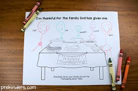 thanksgiving activity for christian preschools prekinders