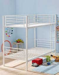 White Metal Bunk Bed Convertible White Metal Bunk Bed Home Gift Shop