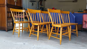 vintage 1950 u0027s solid maple dining chairs willett furniture