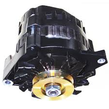 amazon com new black high output alternator fits chevy gm 220 amp