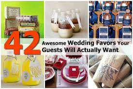 awesome wedding favors 42 awesome wedding favors your guests will actually want