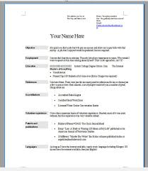 Make Me A Resume Online How To Do Resumes For A Job Resume For Your Job Application