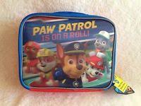 nwt paw patrol backpack u0026 lunch bag tote marshall chase rubble