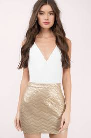 sequin skirt gold skirt sequin skirt chevron print skirt gold skirt