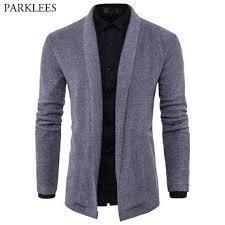 shop men u0027s cardigan shawl sweater on wanelo