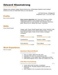 Most Effective Resume Template Effective Resume Examples Mid Level Nurse Resume Sample Nursing