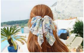 hair chiffon pretty hair ribbons and bow barrettes d bonbonbunny