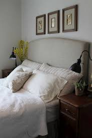 Diy Headboard Upholstered Good Bedroom Feng Shui U003d Headboard That Backs You Up With A Strong