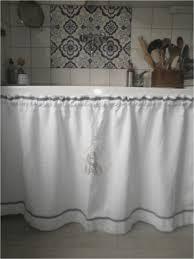 rideau sous evier cuisine rideau sous evier cuisine incroyable rideau d évier confectionné