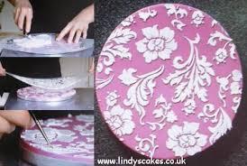 How do I make stencils fit my cake